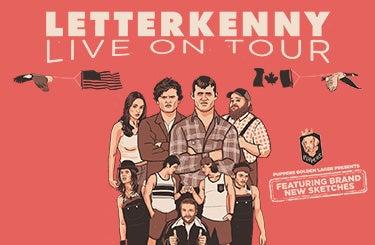 More Info for LETTERKENNY LIVE
