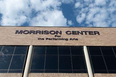 Morrison Center riverside of building