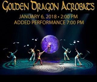 Golden Dragon Acrobats Spotlight Image