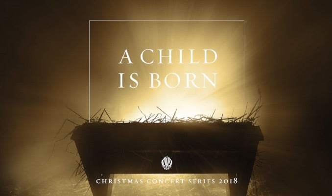 MILLENNIAL CHOIRS A CHILD IS BORN EVENT IMAGE