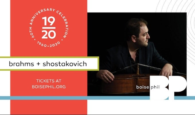 BOISE PHILHARMONIC BRAHMS AND SHOSTAKOVICH EVENT IMAGEI