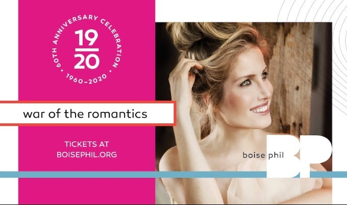 boise philharmonic war of the romantics event image
