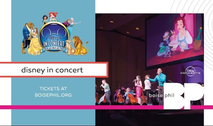 BOISE PHILHARMONIC DISNEY IN CONCERT EVENT IMAGE