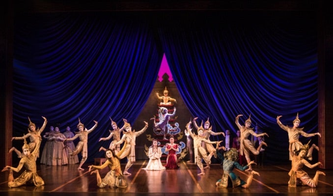 The Company of Rodgers & Hammerstein's THE KING AND I Photo by Matthew Murphy Event Image