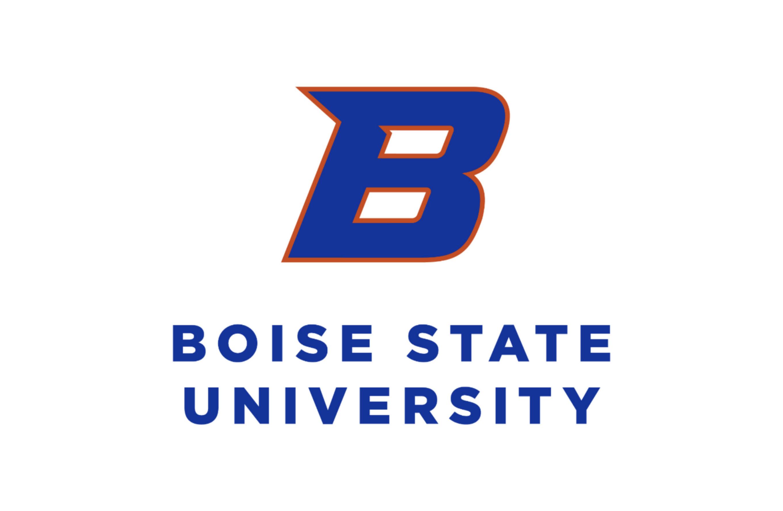 Boise State University Stacked Logo
