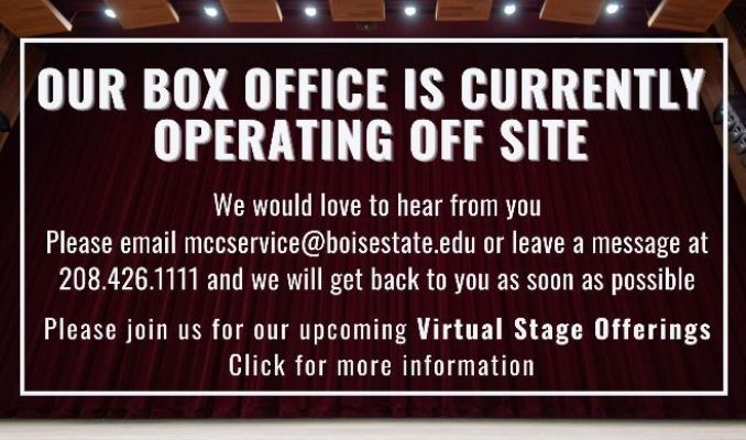 box office operating off site