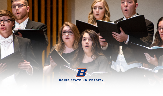 Boise State University Fall Choral Collage event image