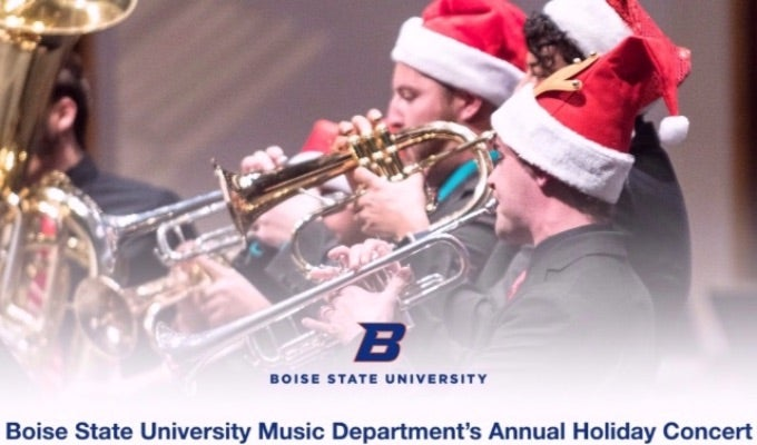 Boise State University annual holiday concert